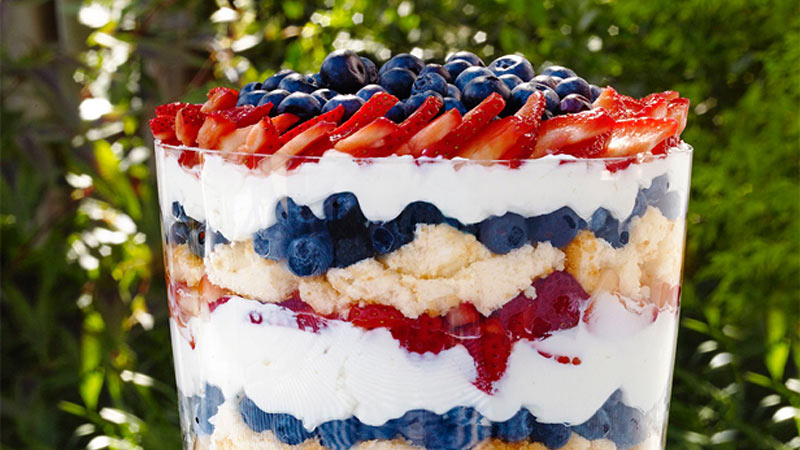 Berry-Trifle