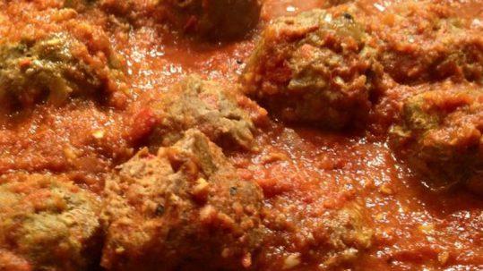 Meatballs-Sofrito
