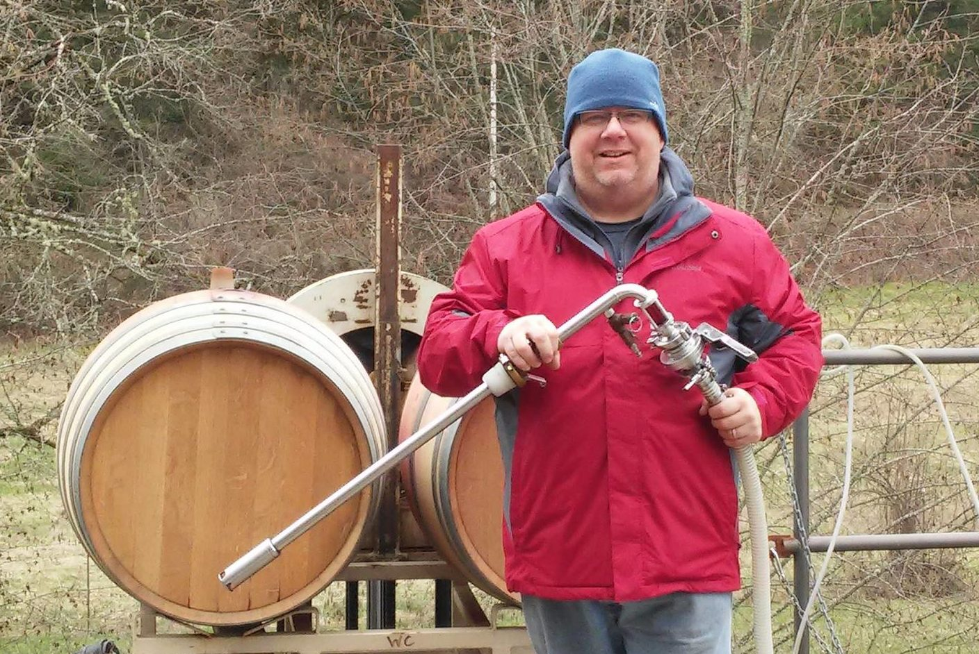 Matt racking the 2015 PN